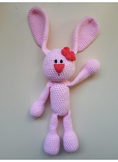 Damla Oyuncak Damla Oyuncak Amigurumi Elişi Örgü Renki Tavşan Oyuncak Renkli